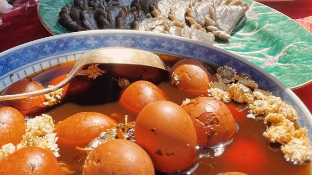 Image of Herbal Tea Eggs for Qi and Blood