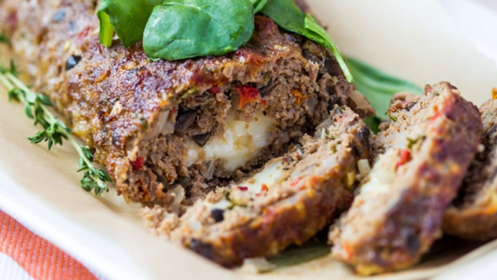 Image of Philly Cheesesteak Meatloaf