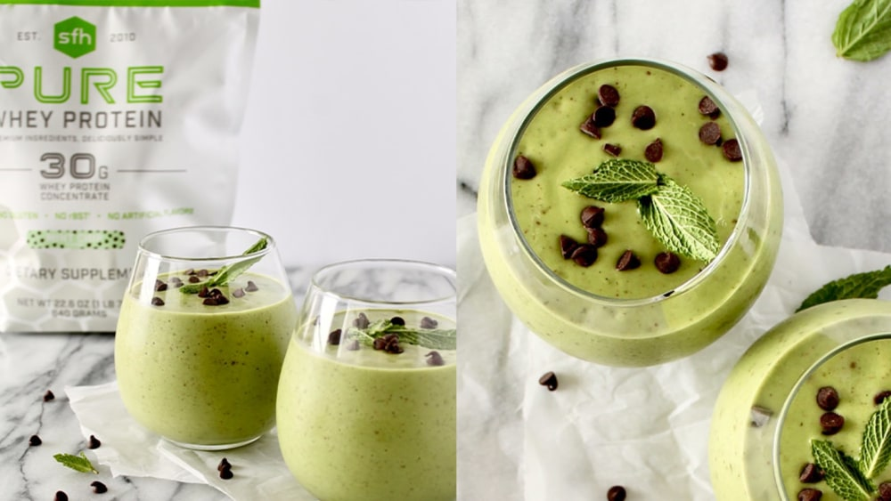 Image of Summer Mint Chip Smoothie