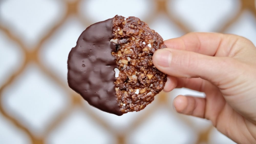 Image of Cacao Nib & Hazelnut Florentine