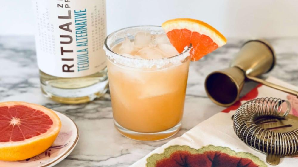 Non-Alcoholic Virgin Paloma Cocktail Recipe