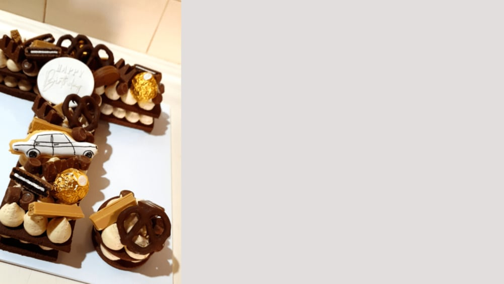 Image of chocolate cookie cake