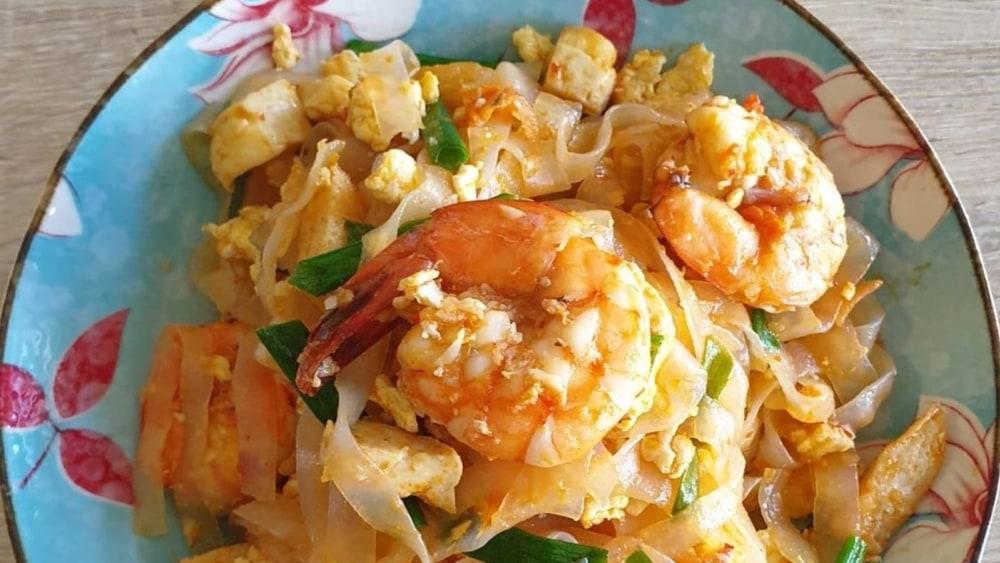 Fried Kuey Teow Shirataki noodles
