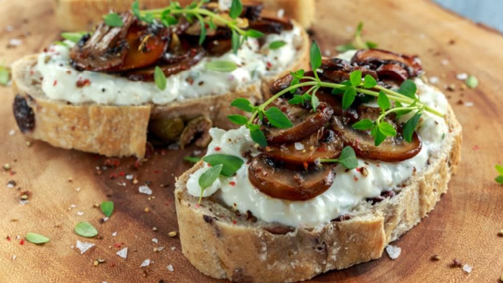 Image of Garlic Mushroom Toast