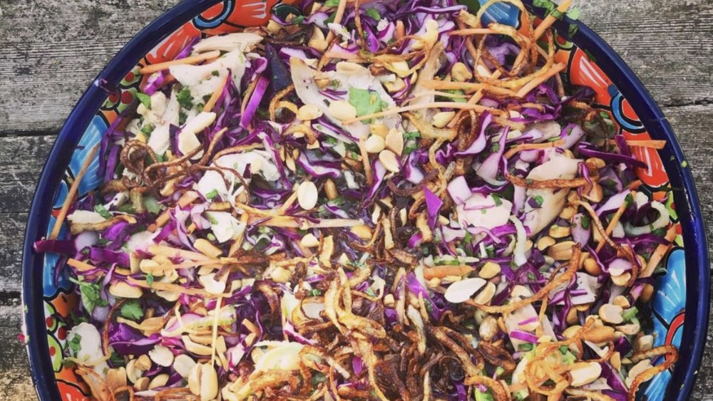 Image of Vietnamese Chicken Salad with Crispy Fried Shallots