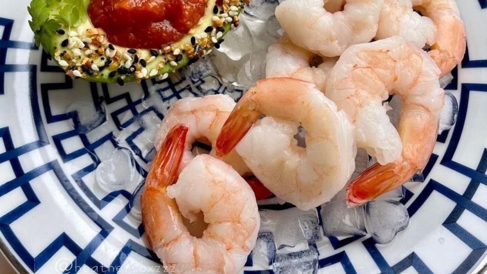 Low-carb Keto Shrimp Cocktail