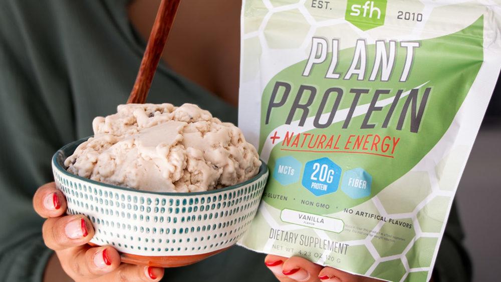 Image of Creamy Vanilla Plant Based Protein Ice Cream