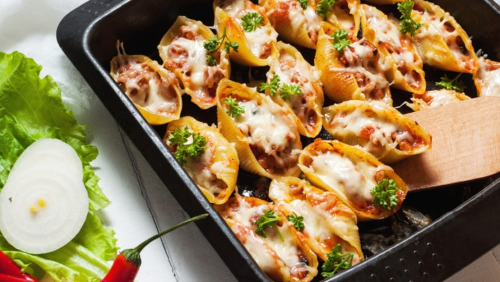 Image of Beef Stuffed Pasta Shells