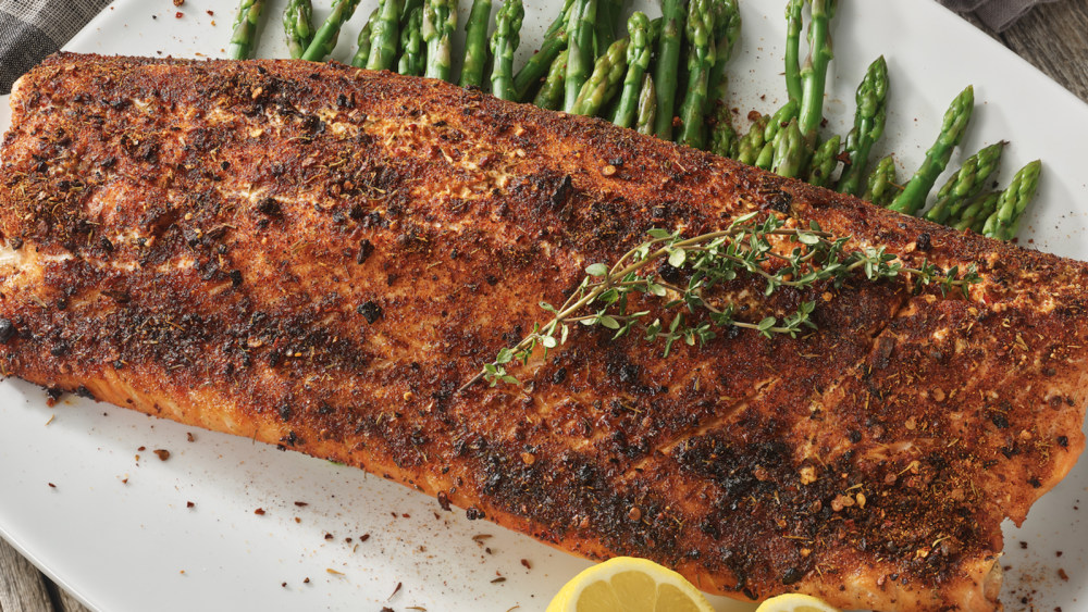 Image of Spicy BBQ Rub Salmon