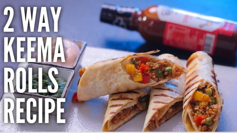 Image of Sriracha Soya Keema Roll(2 way)