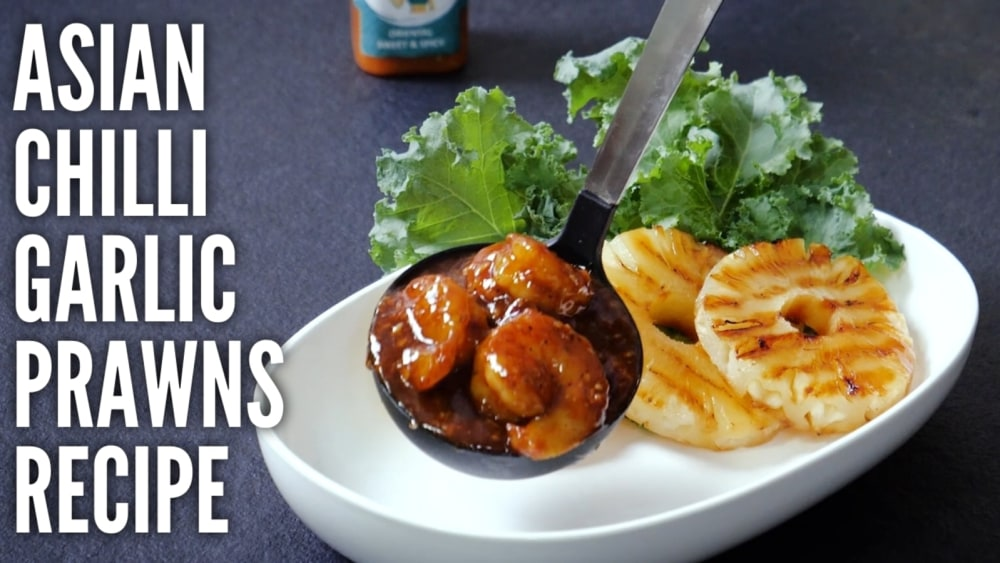 Image of Eat Seafood with a Twish :: Try this easy to cook recipe - Asian Style Sweet Chilli Prawns