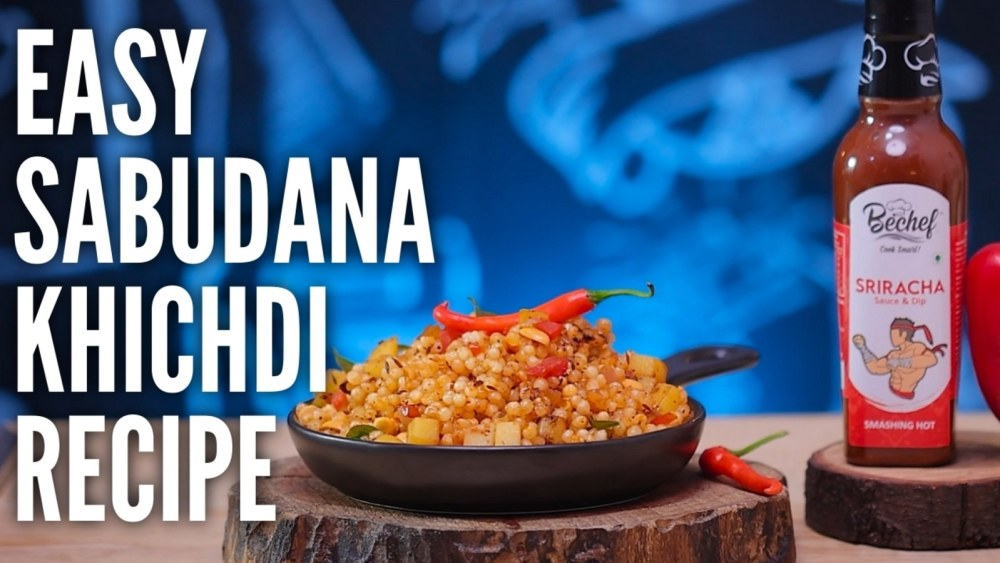 Image of Sriracha Twisted & Non Sticky Sabudana Khichadi :चटपटी साबूदाना खिचड़ी आसान रेसिपी