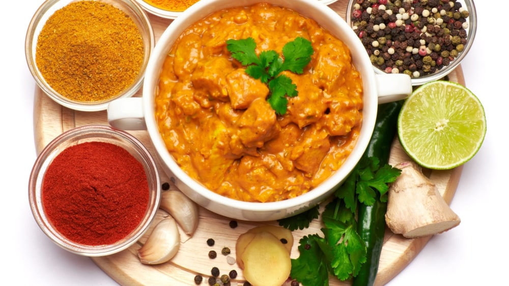chicken curry with cumin