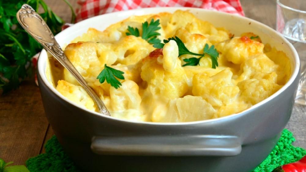 Image of Cheesy Cauliflower Bake