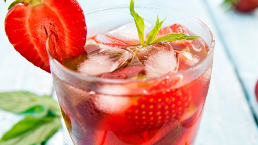 Image ofHemp-Infused Strawberry Shrub