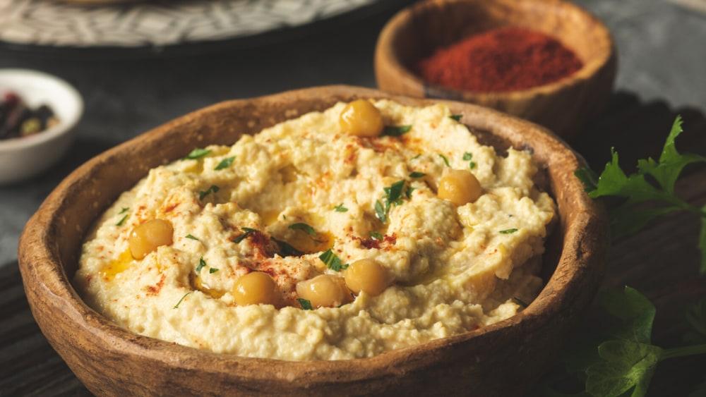 Image ofHemp-Infused Hemp Seed Hummus
