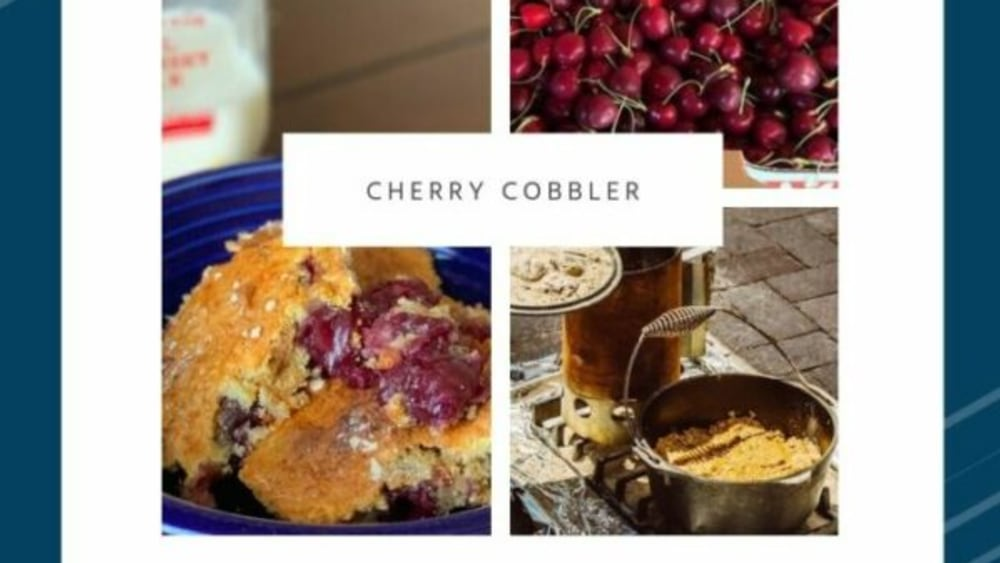 Image ofCherry Cobbler