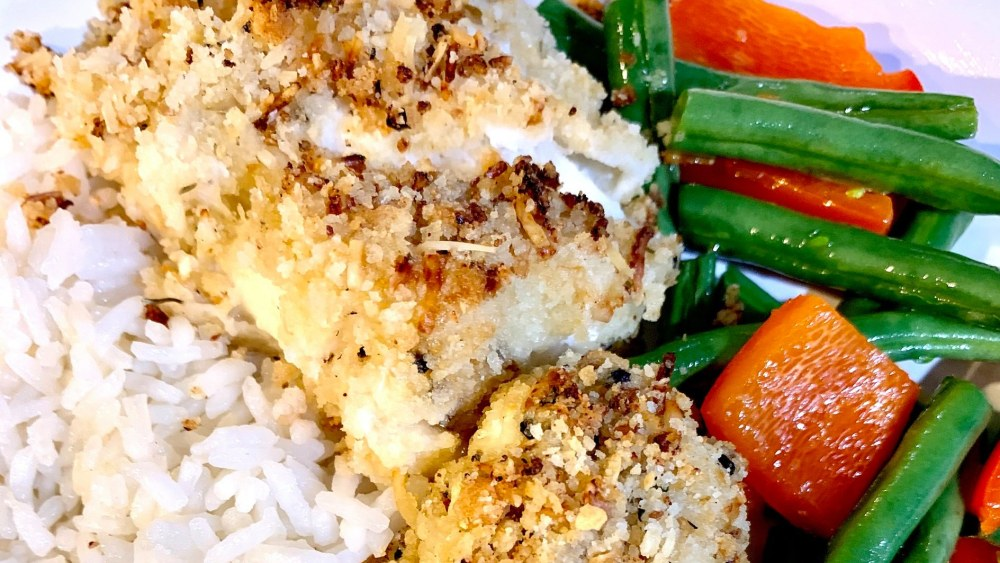 Image of Lemon Parmesan Halibut