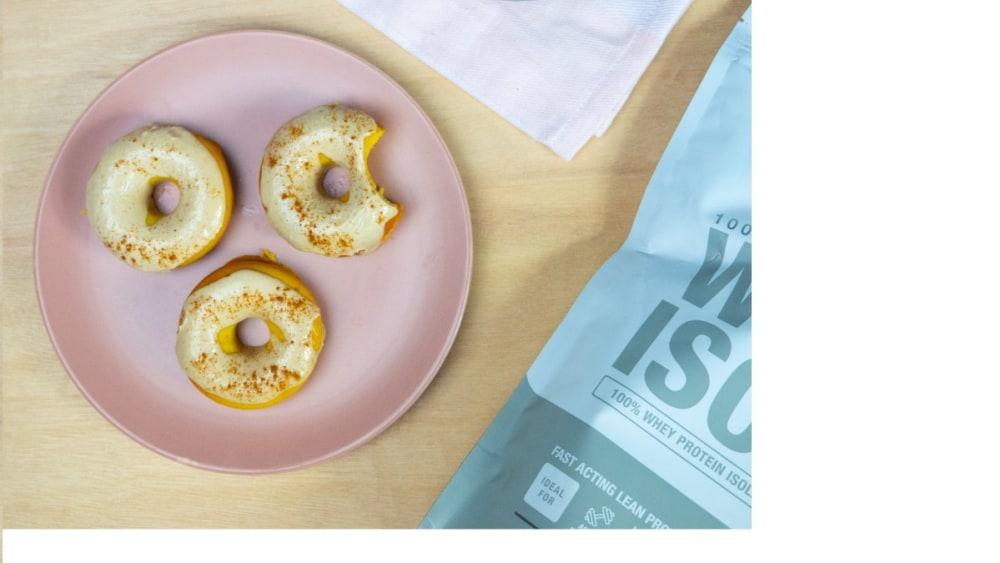 Image of High Protein Pumpkin Donut