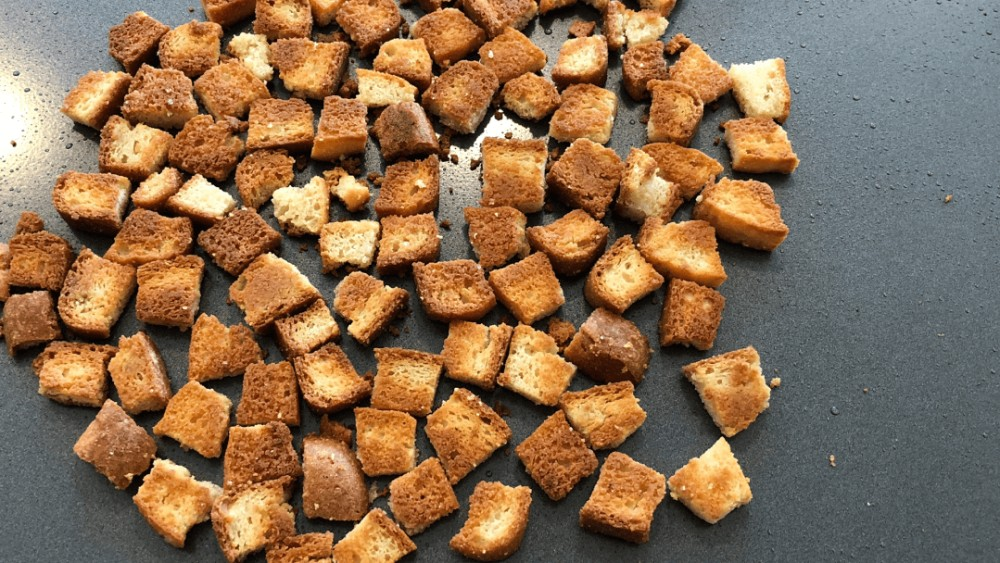 Image ofSimple Keto Croutons