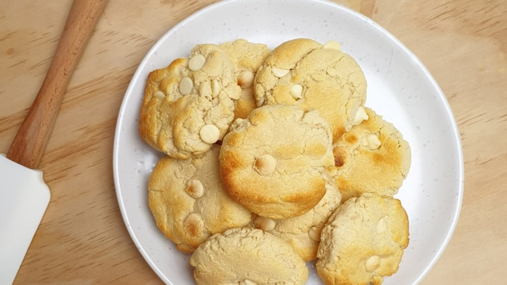Image of White Choc Chip Protein Cookies