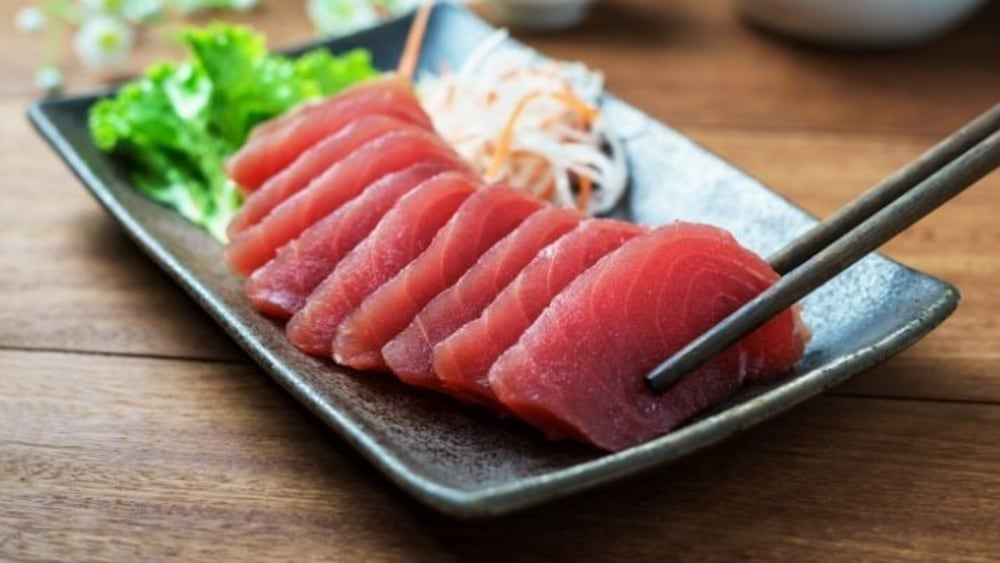 Image of Ahi Tuna Sashimi