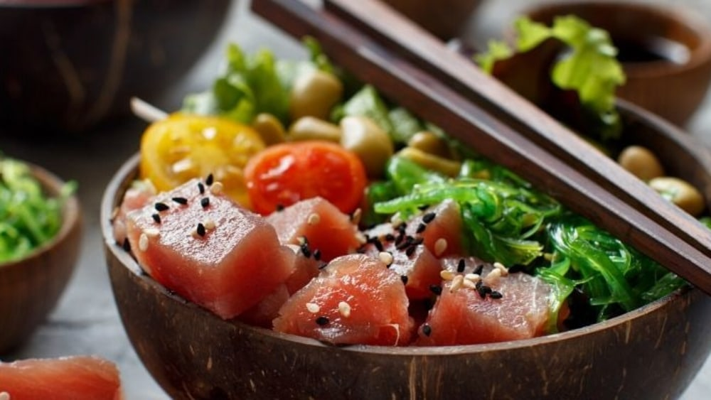 Image of DIY Ahi Tuna Poke Bowls