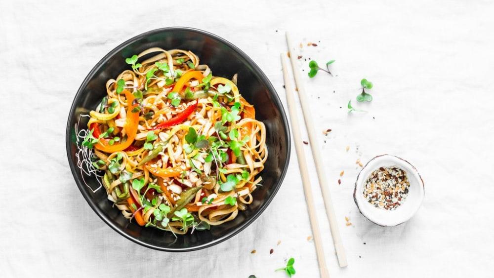 Image of Vegetable Pad Thai Recipe