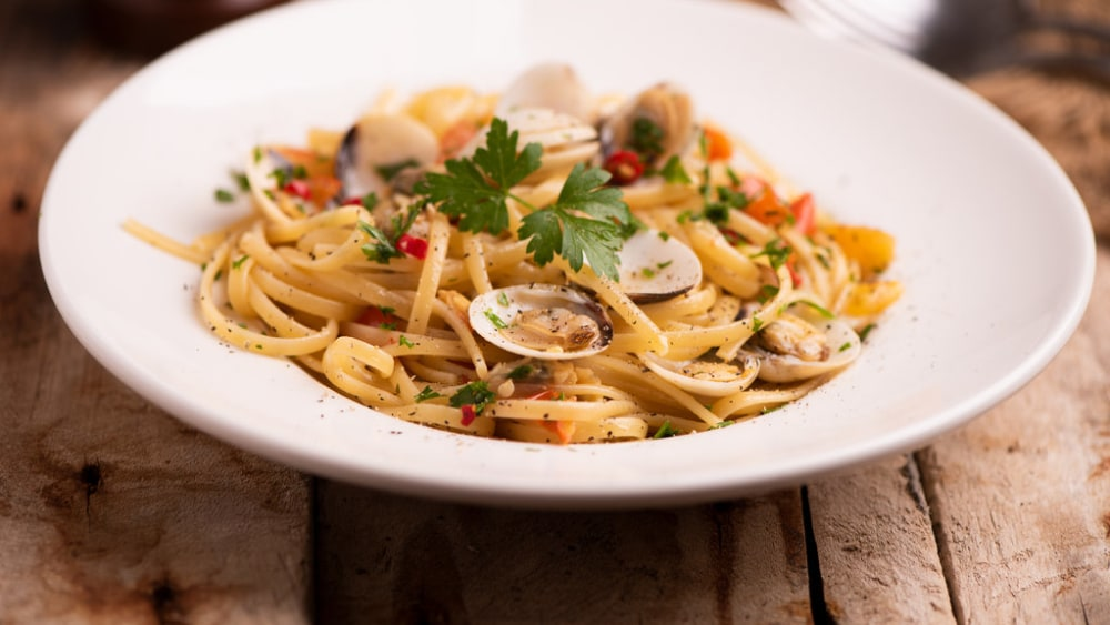 Image of Linguine with Clam Sauce- A Seafood Favorite