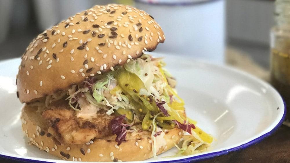 Image ofSpicy Buttermilk Fried Chicken Sandwich