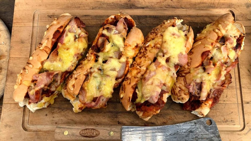 Image of Cheese & Bacon Meatball Subs