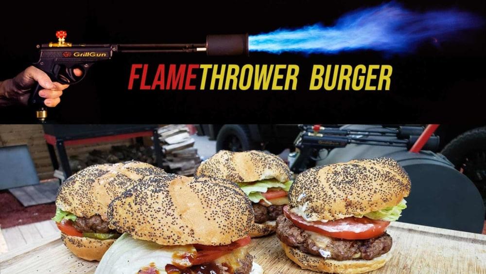 Image of FlameThrower Cheeseburger