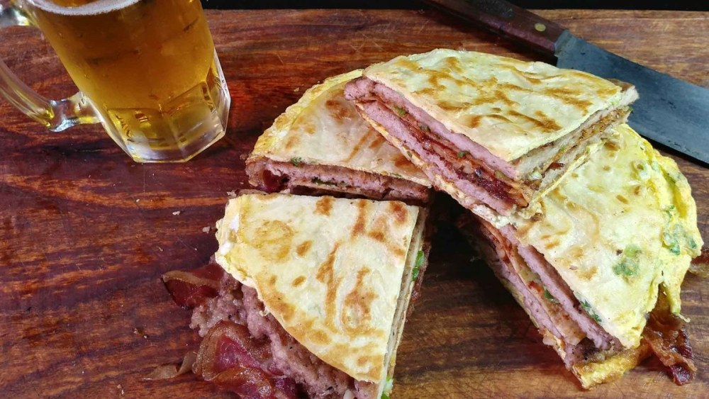 Image of Bacon and Egg Quesadilla
