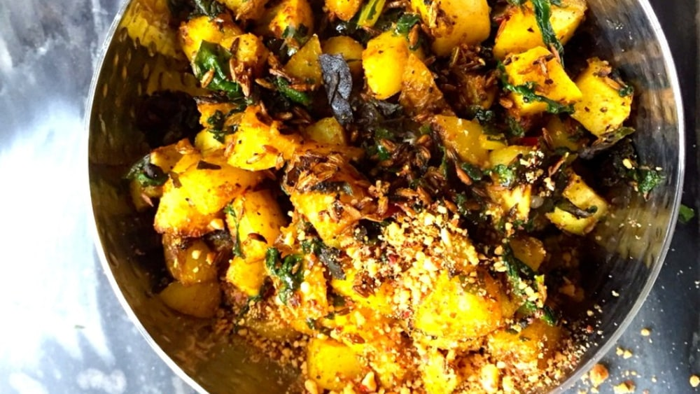 Image ofPotato and Chard Curry