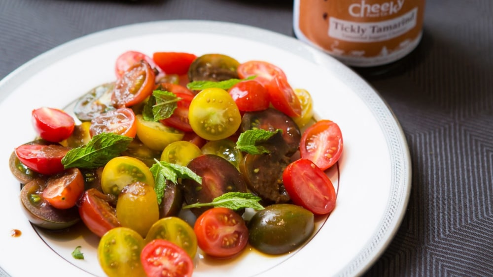 Image ofCherry Tomato Salad Recipe