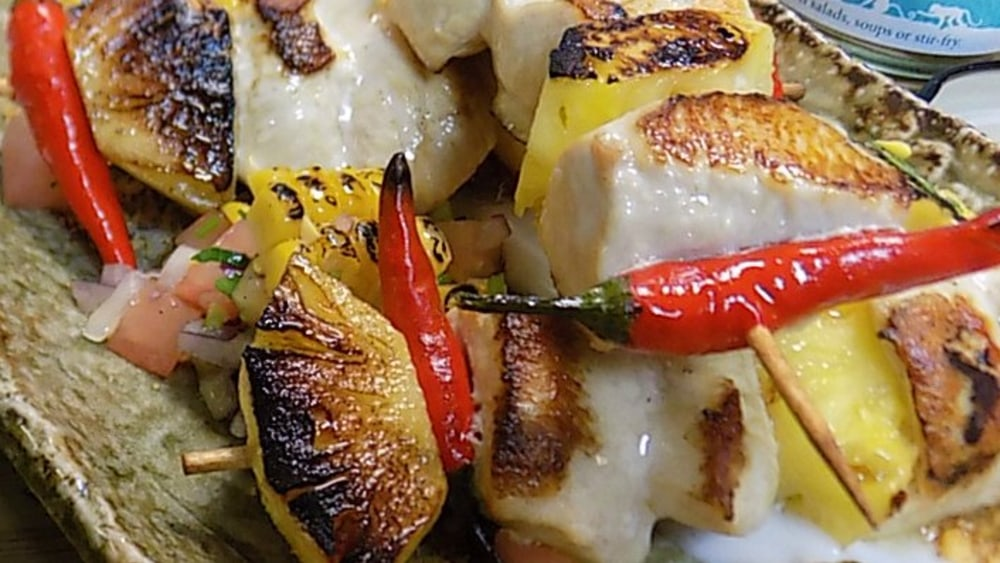 Image ofTropical Chicken Skewers