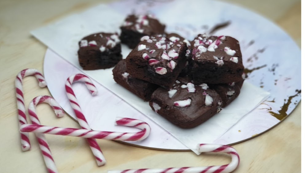Image ofCandy Cane Brownies