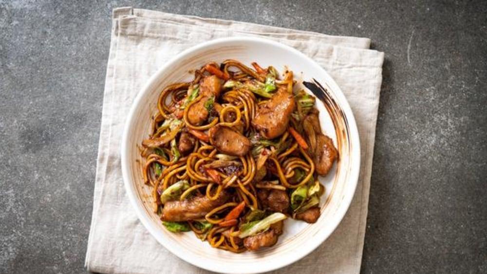 Image of Pork Stir Fry: A Crispy Teriyaki Recipe