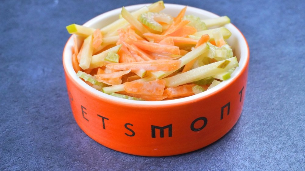 Image of DIY Good-for-your-fur Carrot Slaw for Dogs Recipe
