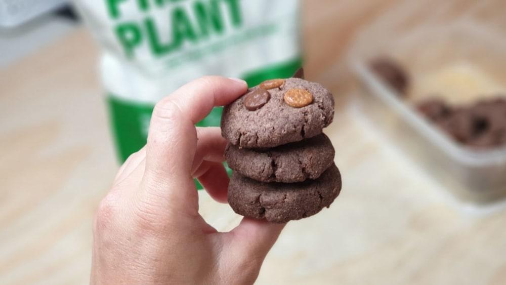 Image ofTriple Choc Shortbread Cookies