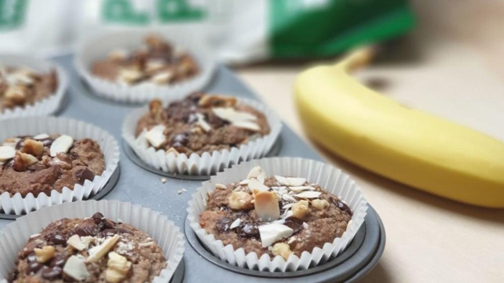Image ofVegan Banana Nut Muffins