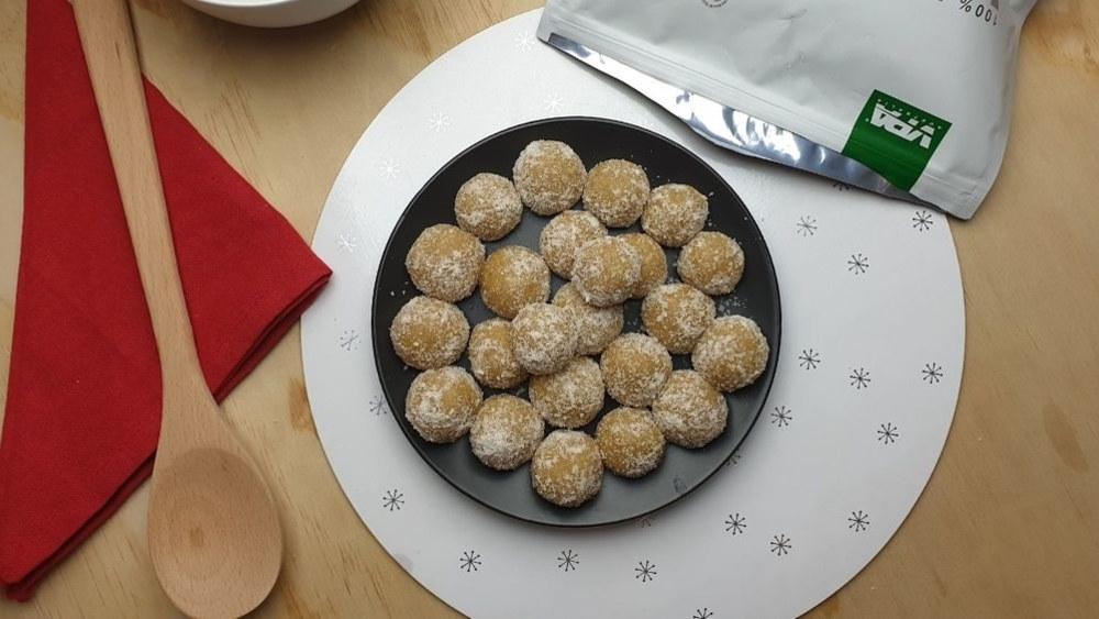Image ofEggnog Protein Balls