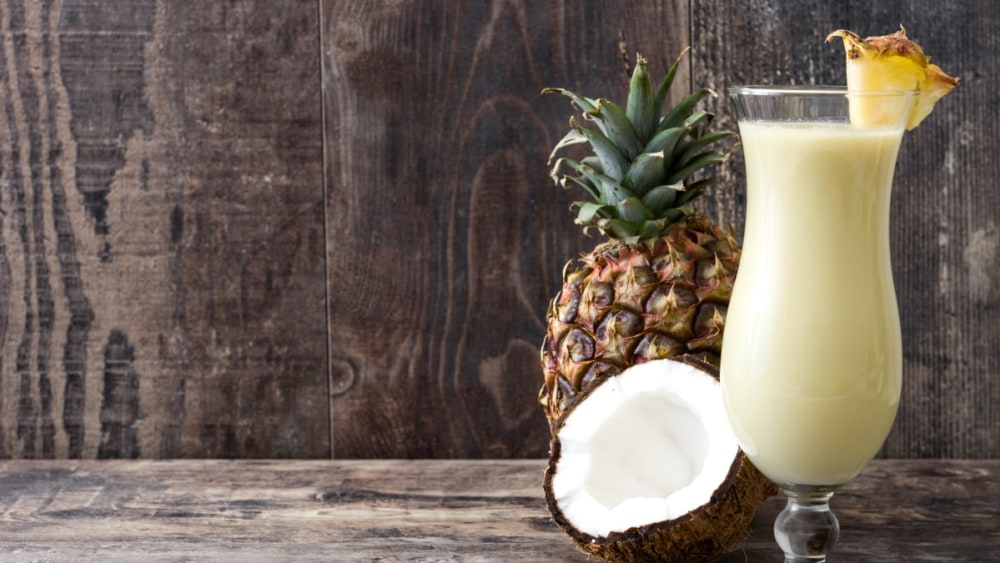 Image of Tropical Piña Colada Smoothies - Recipe