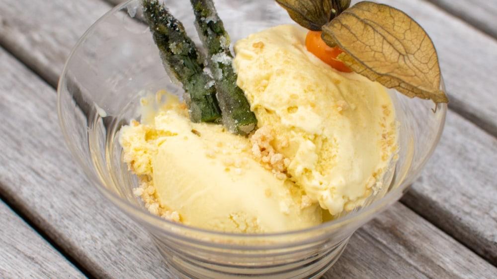 Image of Asparagus Ice Cream