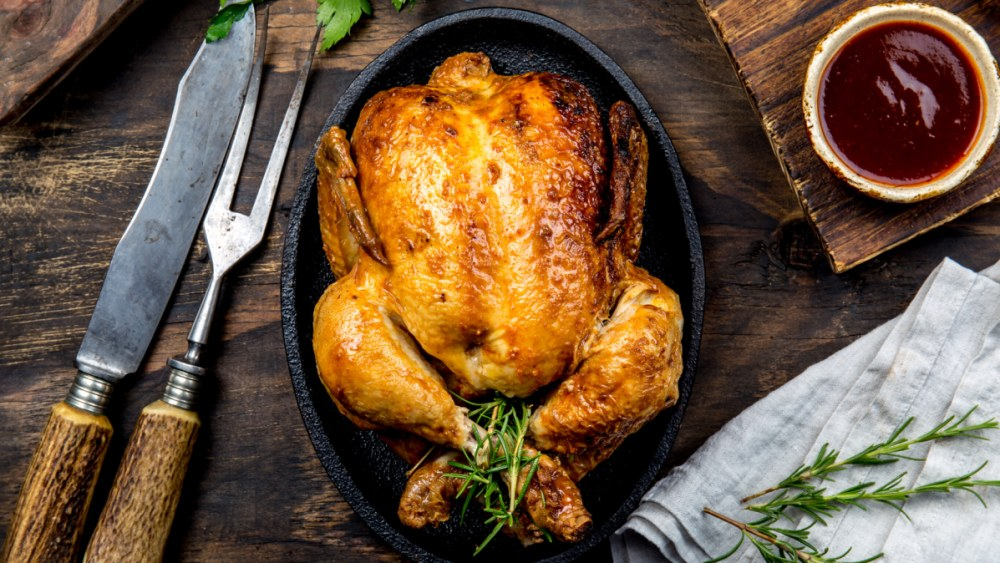Image of Herb-Stuffed Roast Chicken