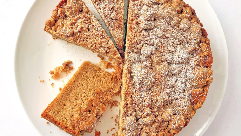 Image ofBrown Butter-Cinnamon Crumb Cake