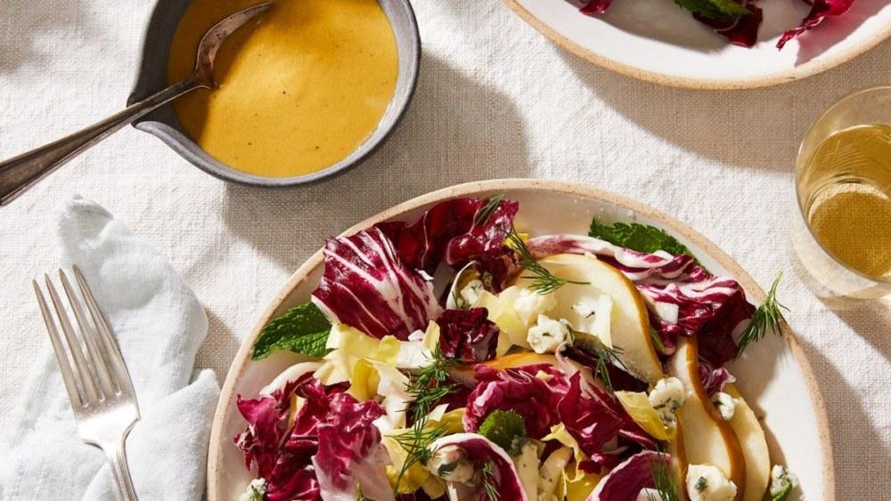 Image ofEasy, Creamy Vegan Salad Dressing