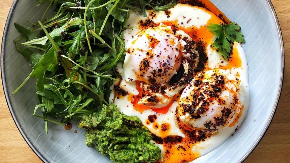 Image ofÇilbir-Inspired Eggs