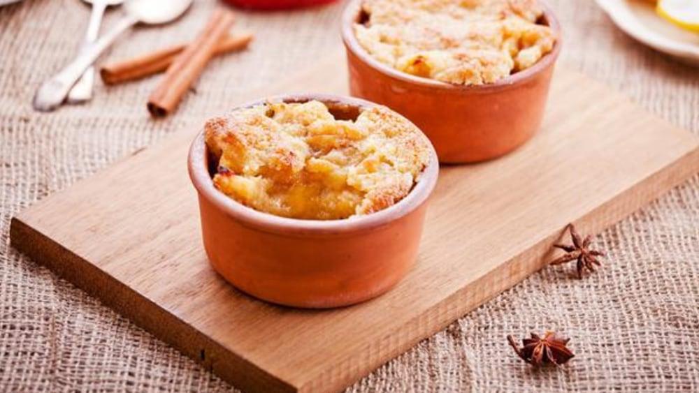 Image of Homemade Single-Serve Apple Cobbler Recipe