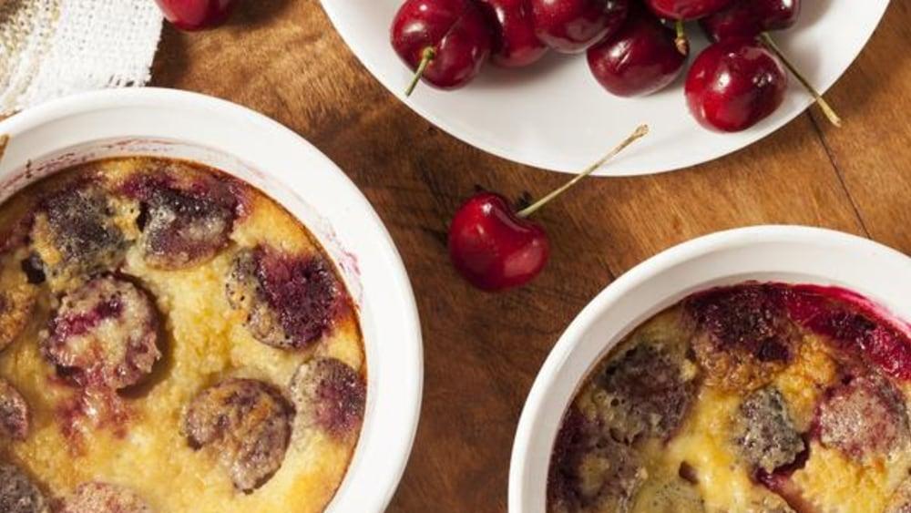 Image de la recette Easy Cherry Cobbler